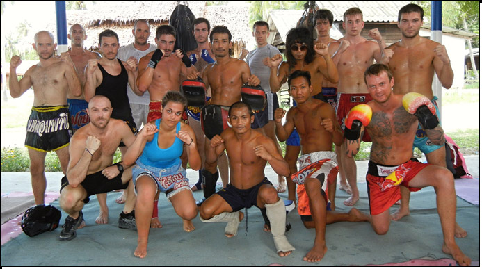 The Diamond Muay Thai Team