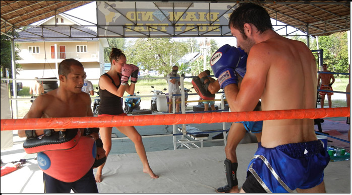 Diamond Muay Thai Training